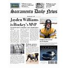 MVP Hockey Fake Newspaper Page