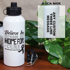 Cure Melanoma Awareness Water Bottle