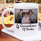 Personalized Generations Photo Coffee Mug
