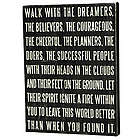 Walk with The Dreamers Box Sign