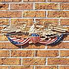 Patriotic Eagle Metal Wall Decor