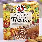 Gooseberry Patch Recipes for Saying Thanks Cookbook