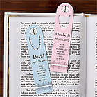 Personalized May God Bless Me Christian Bookmark