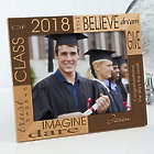 Personalized Hope Dream and Be Graduation Picture Frame