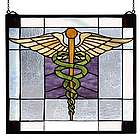 Physician Doctor Stained Glass Window