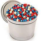 Patriotic Popcorn Gift Tin