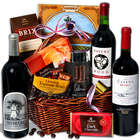 Red Wine & Dark Chocolate Gift Basket