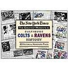 Baltimore Colts & Ravens History Newspaper Replica