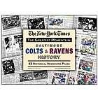 Baltimore Colts & Ravens History Newspaper Replica