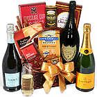 Champagne & Truffles Gift Basket
