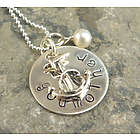 My Anchor Personalized Hand Stamped Necklace