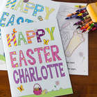 Personalized Easter Coloring Book & Crayon Set