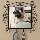 Pet Photo Iron Leash Hanger