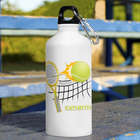 Personalized Tennis Water Bottle