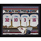 Personalized Atlanta Braves MLB Locker Room Print