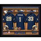 Personalized Pittsburgh Panthers Locker Room Print