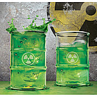 Polluted Drinking Glass Set