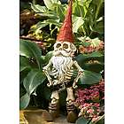 Skel-e-Gnome Garden Sculpture