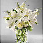 Classic All-White Flower Arrangement