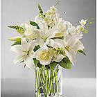 Classic All-White Flower Arrangement