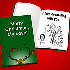 Personalized Christmas Love Book