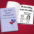 Get Well Soon Personalized LoveBook