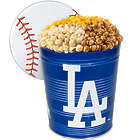3 Gallons of Popcorn in LA Dodgers Tin
