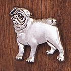 Handcrafted Pug Pin