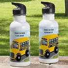 Bus Driver Personalized Water Bottle
