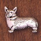 Handcrafted Pembroke Welsh Corgi Pin