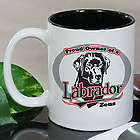 Personalized Proud Owner of a Labrador Mug