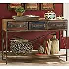Suitcase Console Table