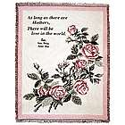Mother's Love in the World Personalized Throw Blanket
