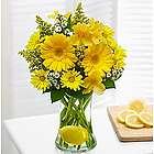 Make Lemonade in a Vase Floral Bouquet