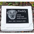 Custom Granite Photo Pet Urn
