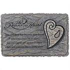 Reunion Heart Horizontal Stepping Stone