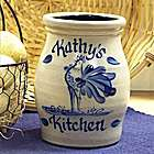 Personalized Rooster Utensil Jar