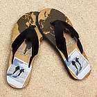 Personalized World Traveler Pro Fit Photo Sandal