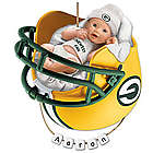 Personalized Green Bay Packers Baby's First Christmas Ornament