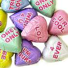 Chocolate Conversation Hearts 5 Pounds