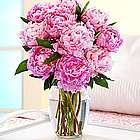 Deluxe Assorted Pink Peonies Flower Bouquet