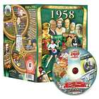 60th Anniversary or 60th Birthday DVD for 1958