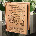 In the Spirit of Love Personalized Wooden Photo Album
