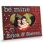 Personalized Be Mine Valentine Cut-Out Frame