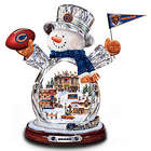 Chicago Bears Crystal Snowman Figurine