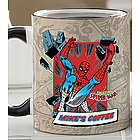 Personalized Retro Superhero Coffee Mug