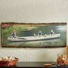 Large Picture Perfect Basswood Personalized Wood Plank