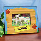 Personalized Dog House Printed Frame