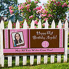 Birthday Party Personalized Photo Banner