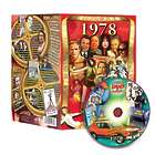 40th Birthday or 40th Anniversary DVD for 1978